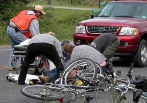 bicycle accident in Maine