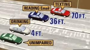 distracted driving accidents causing car crash