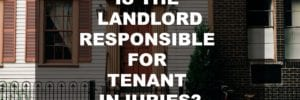 Negligent Landlord and tenant injuries