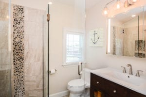 how to complete a low end bathroom remodel