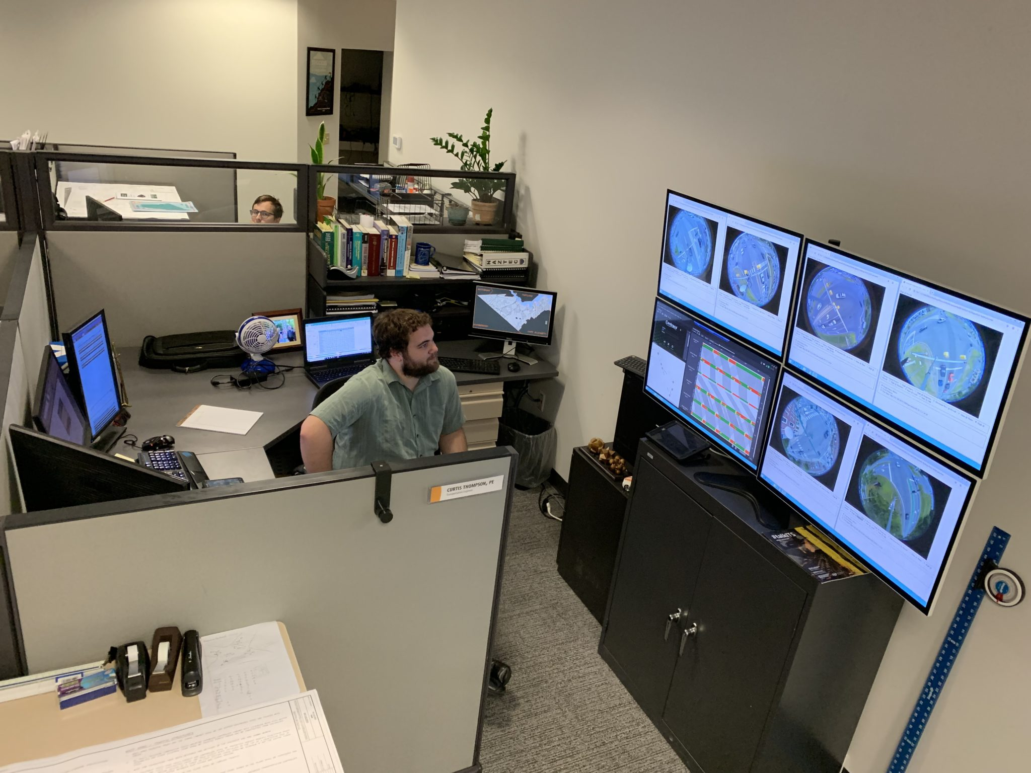 Curtis at Computers