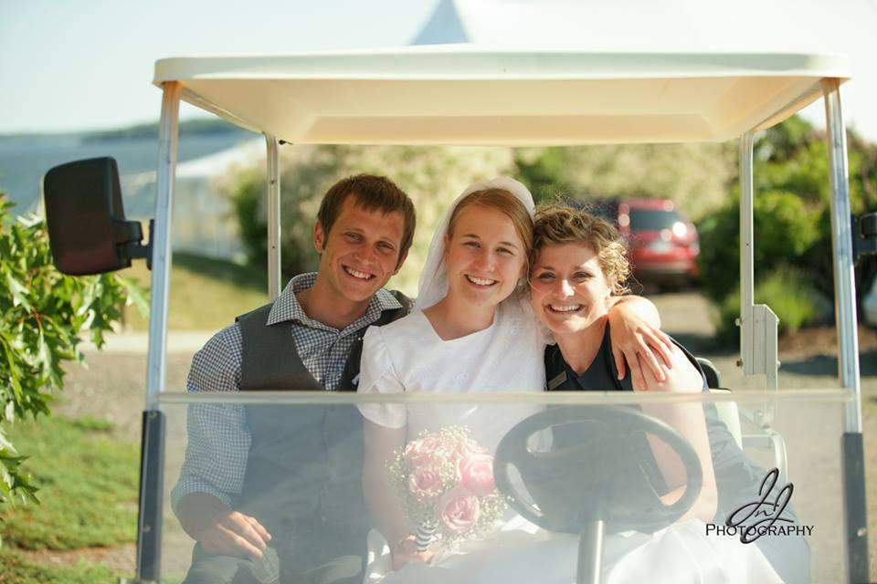 French's Point Hosts a Family Wedding