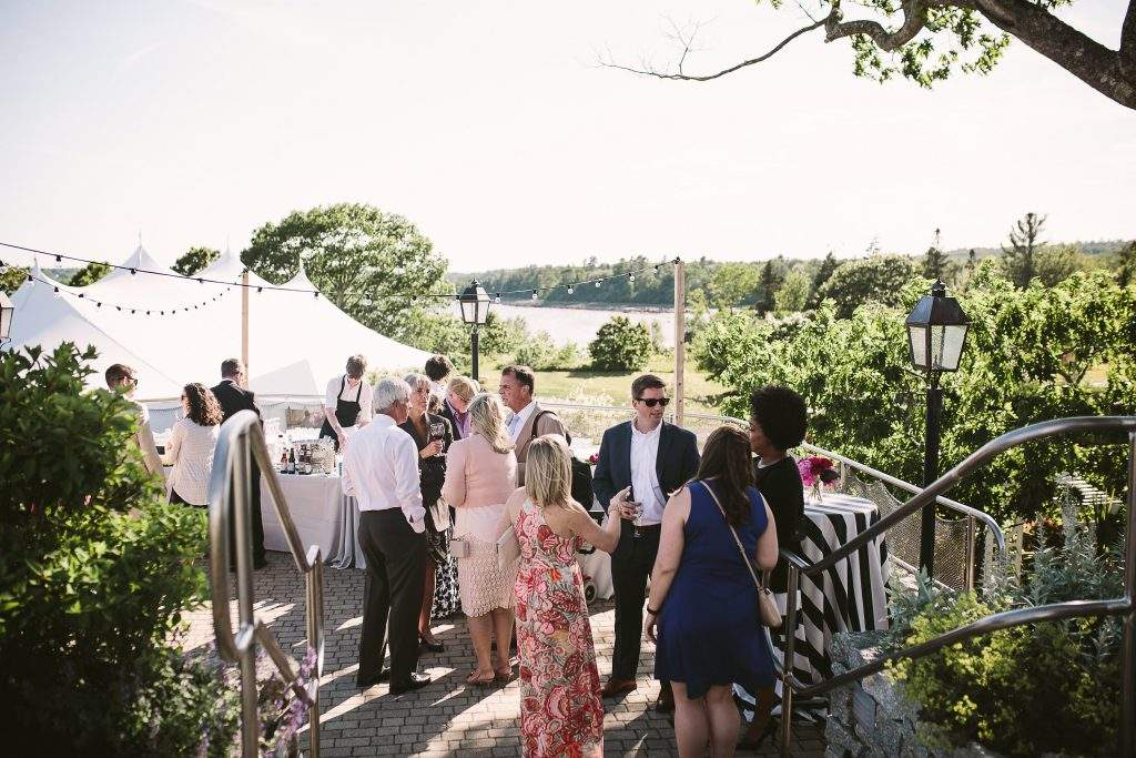 Real French's Point Wedding