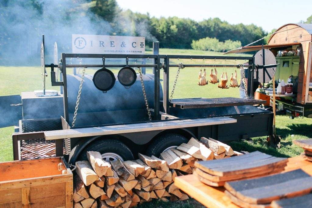 Fire & Company Wood Fired Catering