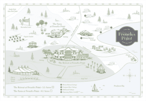 French's Point Map