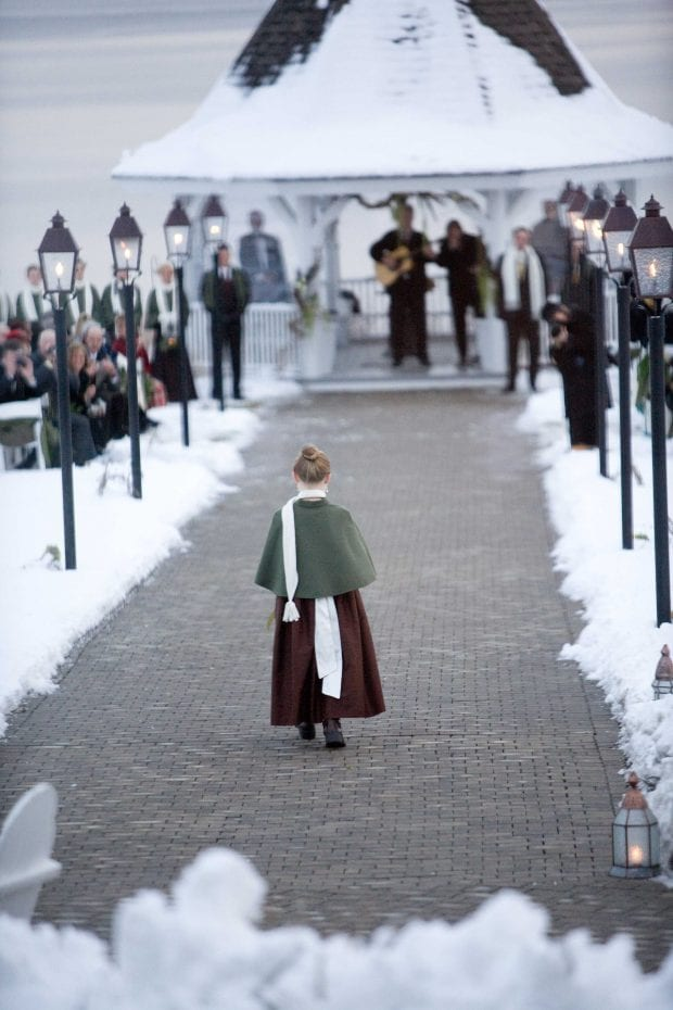 A Weekend Winter Wedding Itinerary for French's Point