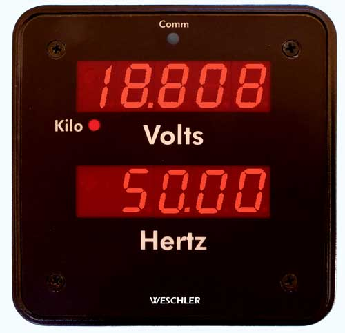 Frequency Dual Function Meter